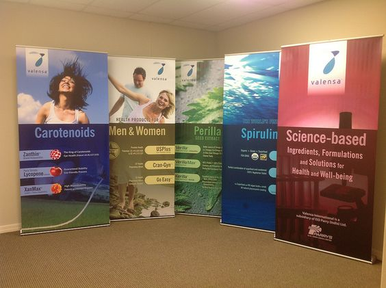 Retractable Banner Stands Trade Show Displays Amp Banners