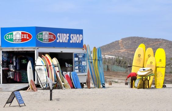 Cerrito Surf Colony  Imagine the days in the warm Baja sun steps from your villa. Los Cerritos Beach, the ONLY swim-able beach on the Pacific side of the Baja from Todos Santos to Cabo San Lucas and it's at your doorstep.