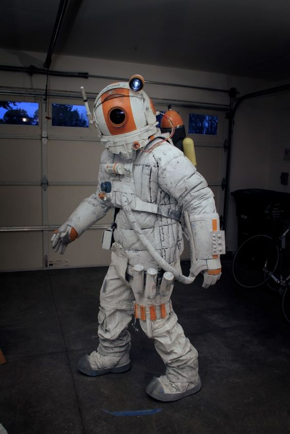 space suit labeled - photo #33