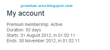 Crocko.com Premium Account Valid Till 31 November, 2012 With Proof