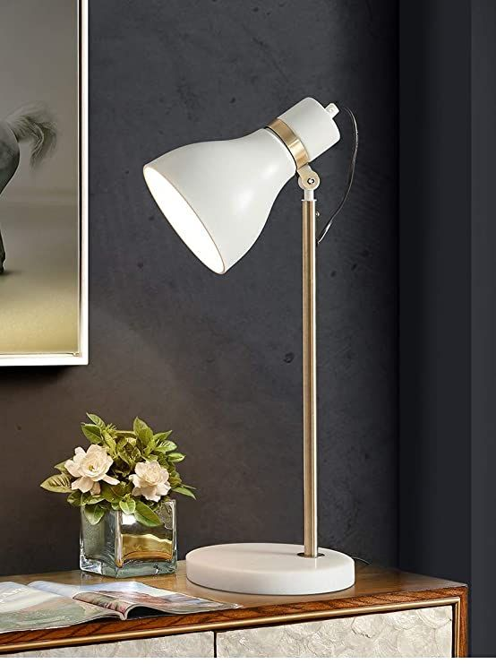 Isdy Light Marble Reading Table Lamp Simple Postmodern Light Luxury Style Creative Romantic Desk Stud Beautiful Floor Lamps Silver Floor Lamp Touch Table Lamps