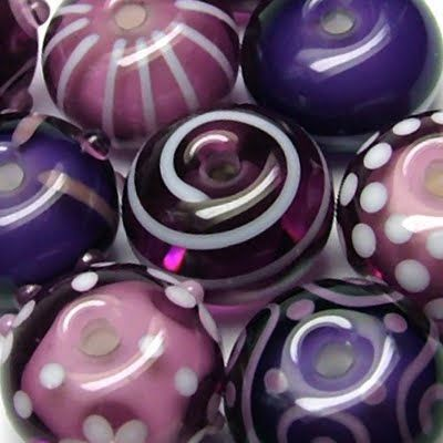 Lampwork or candies - doesnt link but these sure are scrumptious looking.