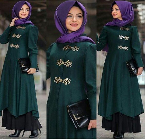 Pinar Sems Green Coat  Price  85 Dolars Black Skirt 50 Dolars #modaufku #modaufkuhijab #tesettür #hijab #hijabfashion #islamic #hijabi #hijaber #dress #abaya #elbise #abiye #pudra #annahar #pınarsems #gamzepolat: