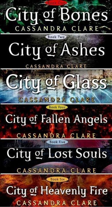 Die Reihe um den Geheimnisvollen Bund der Schattenjäger und die bewegende Liebesgeschichte der Protagonisten Clary und Jace. Viele Höhen und Tiefen gepaart mit packendem Schreibstil.