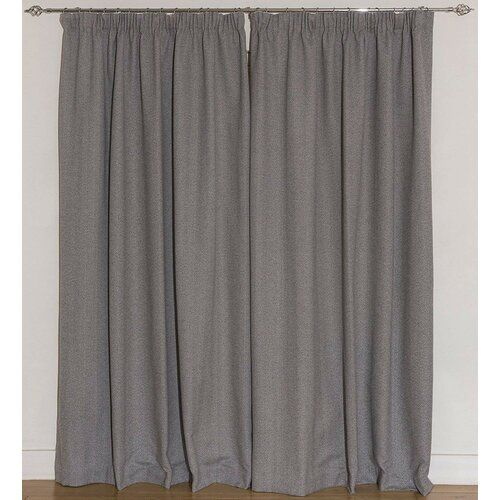 Thermovorhang Set Choate Mit Krauselband Blickdicht Union Rustic Grosse Pro Vorhang 228 B X 228 H Cm Products In 2020 Thermal Curtains Ebern Designs Pencil Pleat