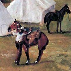 Comment un véritable cowboy monte à cheval ?