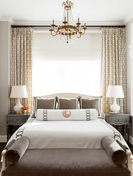 Window open window and grey furniture on pinterest Master bedroom bed against window