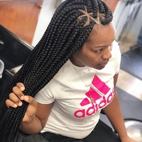 Five Beautiful Low Maintenance Hairstyles For Working Mums Braided Hairstyles For Black Women Nigerian Braids Hairstyles