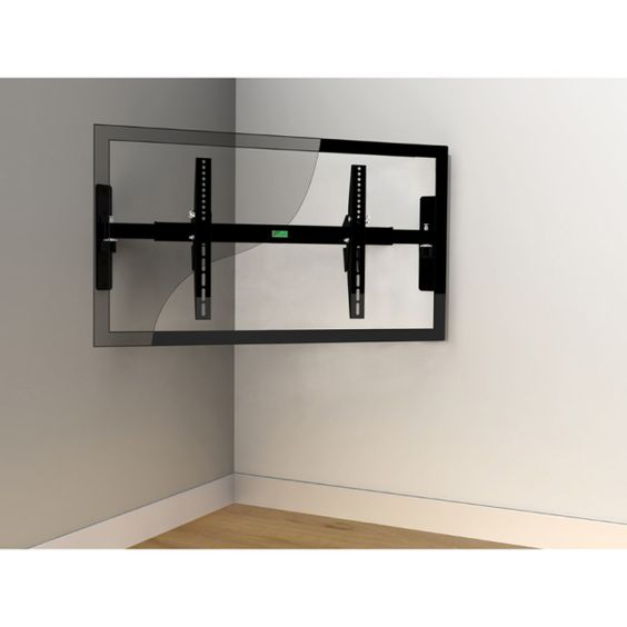 large corner tv stand zinecm680 easy corner wall mount. Black Bedroom Furniture Sets. Home Design Ideas