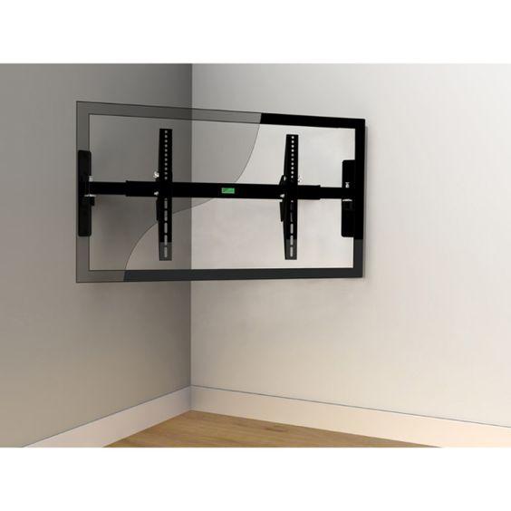 Large Corner Tv Stand Zinecm680 Easy Corner Wall Mount