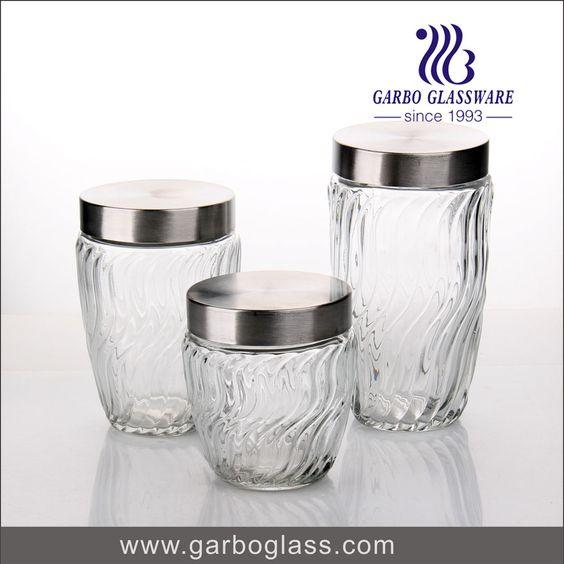 glass jar / glass food storage