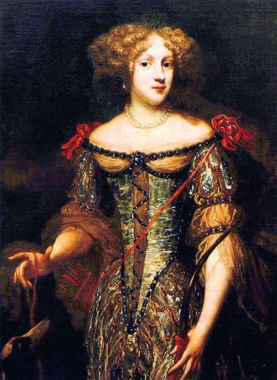Liselotte von der Pfalz, frühes Porträt