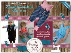 Nähanleitungen Baby - Ebook * Strampelienchen * Strampler * Gr. 50 - 98 - ein Designerstück von PomundPino bei DaWanda