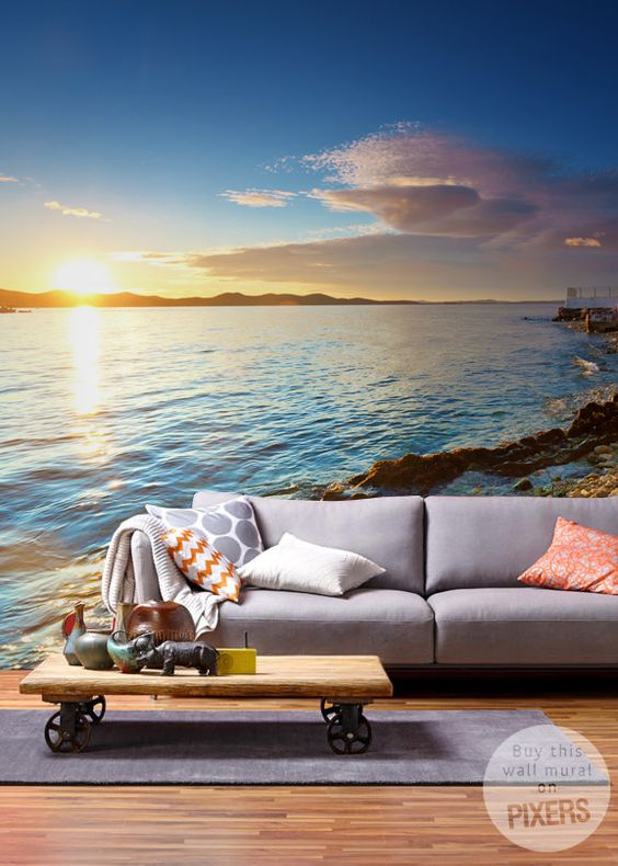 Wall Mural Landscape by Pixers #Pixers #landscape #dream #holiday #wallmural #homedecor #home #interior #design