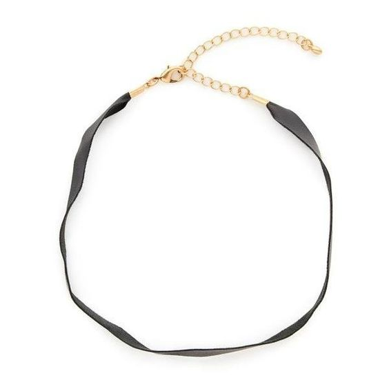 Maza Choker Necklace ($54) ❤ liked on Polyvore featuring jewelry, necklaces, adjustable leather necklace, choker jewelry, leather choker necklace, choker necklace and leather choker