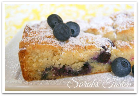 Sarahs Torten und Cupcakes: Blaubeerkuchen