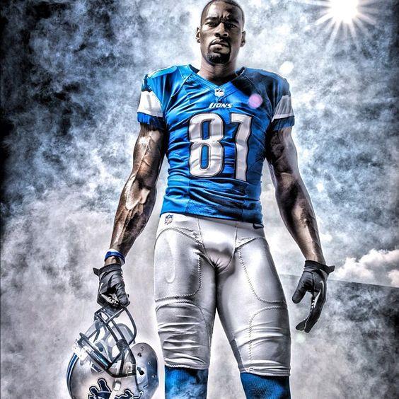 Calvin Johnson - Detroit Lions... Mega-Tron is a Beast! Go Lions!!!!!