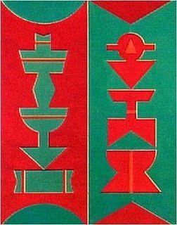 Emblema, 1987, Rubem Valentim (1922-1991), Brazil.