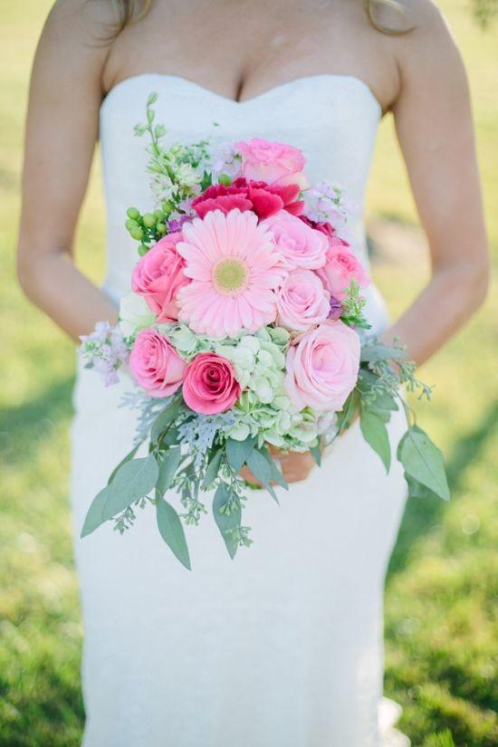 When Life Gives You Lemons Drink Pink Lemon Liqueur Daisy Wedding Daisy Bouquet Wedding Flower Bouquet Wedding