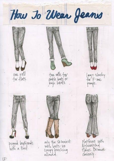 How to wear jeans, via reddit. :-)