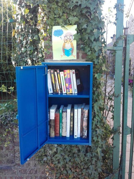 Boîte à livres Binche 3 Waudrez