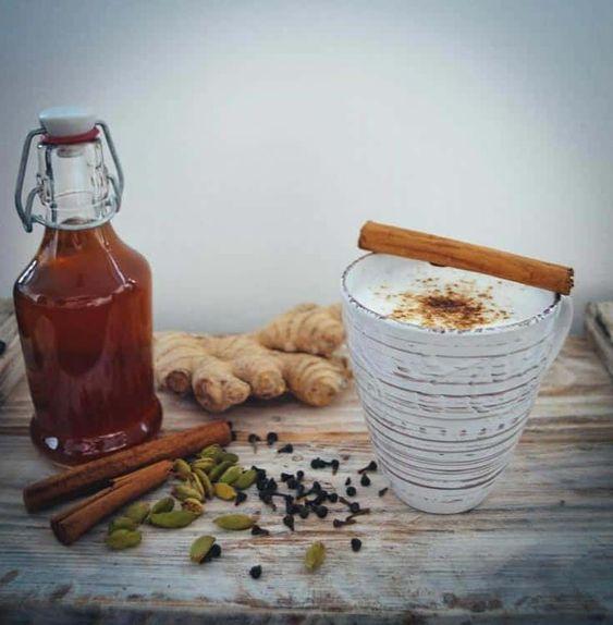 Chai Latte Sirup Selbstgemacht Rezept Chai Latte Sirup