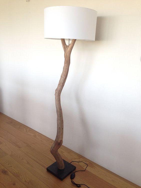 natuurlijke verlichting staande lamp vervaardig door. Black Bedroom Furniture Sets. Home Design Ideas