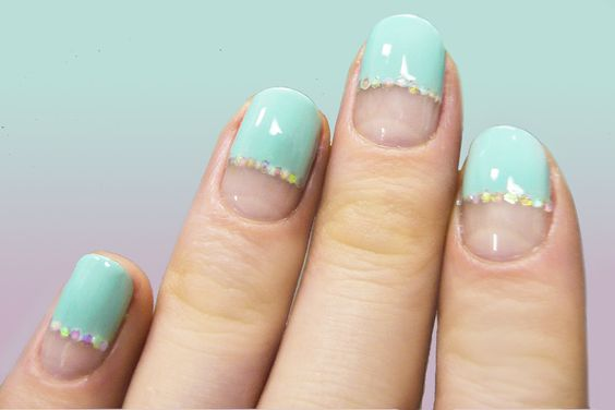 x: Makeup Nails, Nails Art, Bridal Nails, Nails Makeup, Bling Nails, Fancy Nails, Nail Art