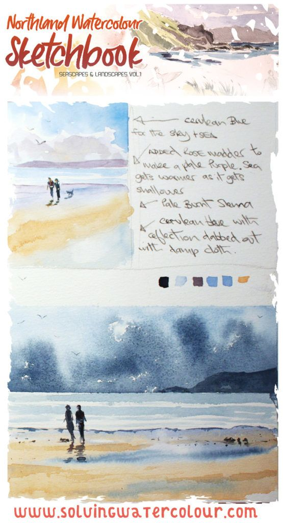 Northland Watercolour Sketchbook Ebook Watercolour Techniques