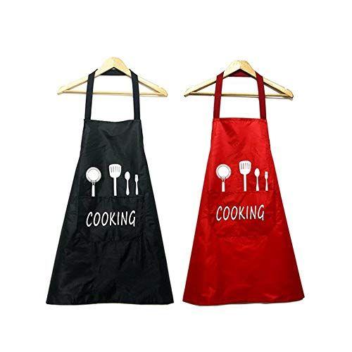 Spriessen 2 Pack Tabliers De Cuisine Etanchetablier Reglable Avec Poches Pour Cuisine Familialrestaurantjardinbarbecue En 2020 Tablier Cuisine Cuisine Familiale Tablier