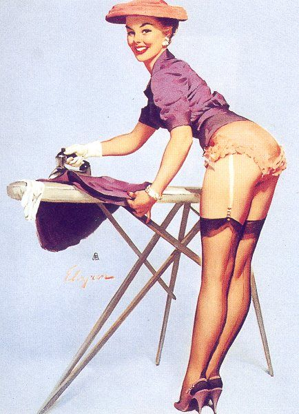 Gil Elvgren, born Gillette Elvgren, was an American painter of pin-up girls, advertising and illustration. Elvgren was one of the most important pin-up and glamour artists of the twentieth century. Wikipedia Born: March 15, 1914, Saint Paul, MN Died: February 29, 1980