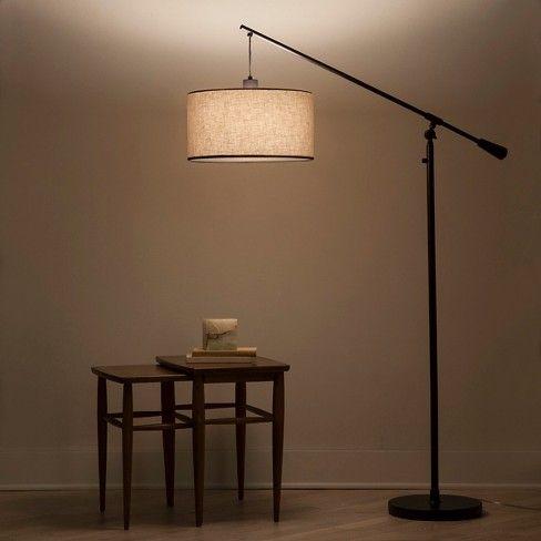 Cantilever Drop Pendant Floor Lamp Antique Brown Threshold Floor Lamp Black Floor Lamp Task Floor Lamp