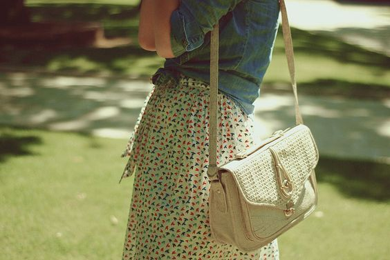 love the print and the purse <3