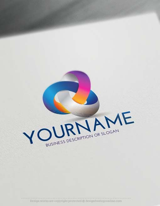 3d Logos Create 3d Logo Online With Our Free Logo Maker 3d Logo Design Online Logo Design Logo Design Collection