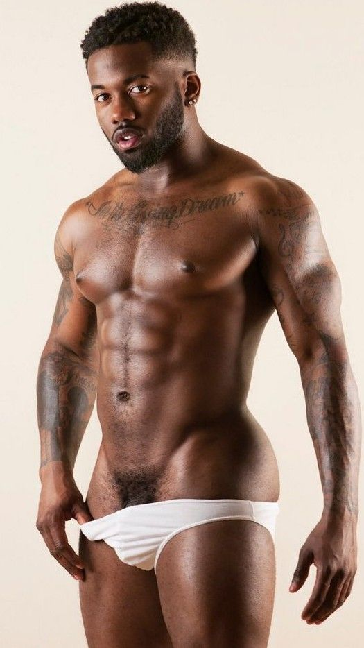 Hot black guys naked the singer topless