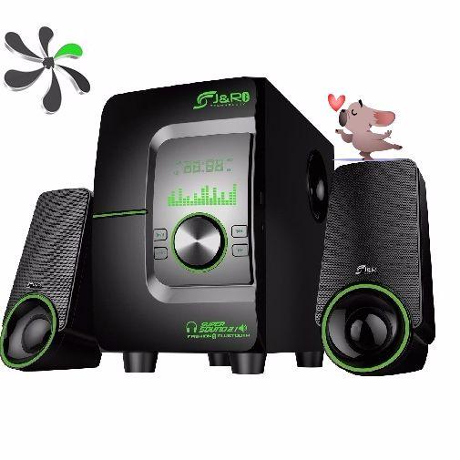 Minicomponente Bluetooth, Fm, Usb J5133 Sistema de audio para Tv - Dvd - Bluray - Pc etc... www.tecnologiahoy.net $190.000