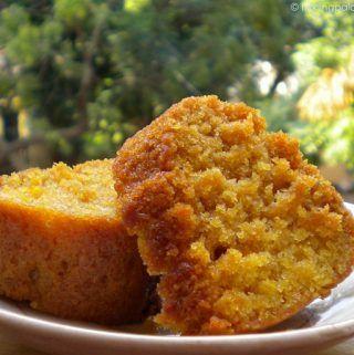 Vegan Orange Cake How To Make Vegan Orange Cake Tickling Palates Vegan Bakery Vegan Cake Recipes Orange Cake