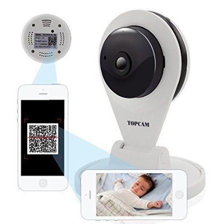 Amazon.com: Tigersecu® Wireless Wifi Ipcamera Topcam Security 720p Hd Home Baby Monitor: Home Improvement