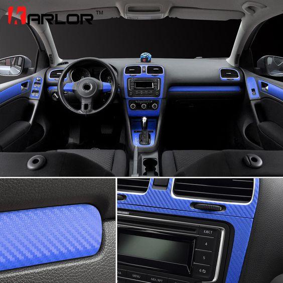 Volkswagen Vw Golf 6 Gti Mk6 Interior Central Control Panel Door Handle Carbon Volkswagenvwgolf Carbon Fiber Mk6 Gti Volkswagen