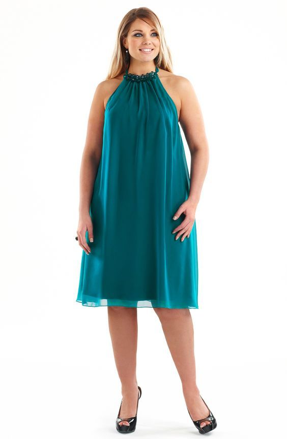 dress for big tummy in 2020 | Plus size dresses, Dresses to ...