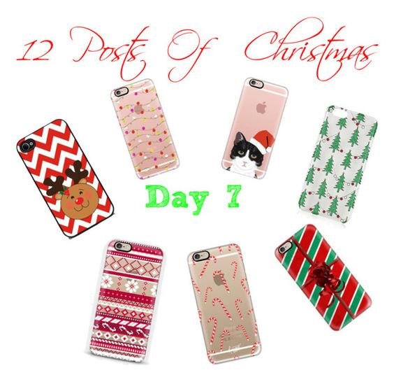 Post a mirror selfie with you Christmas phone case by taste-by-teenz on Polyvore featuring polyvore, fashion, style, Casetify and Topshop
