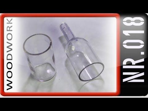 ▶ Windlicht aus einer Flasche basteln Teil1 - YouTube