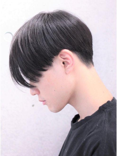 横顔決まる エキセントリックマッシュ 髪型 ビューティー ヘア