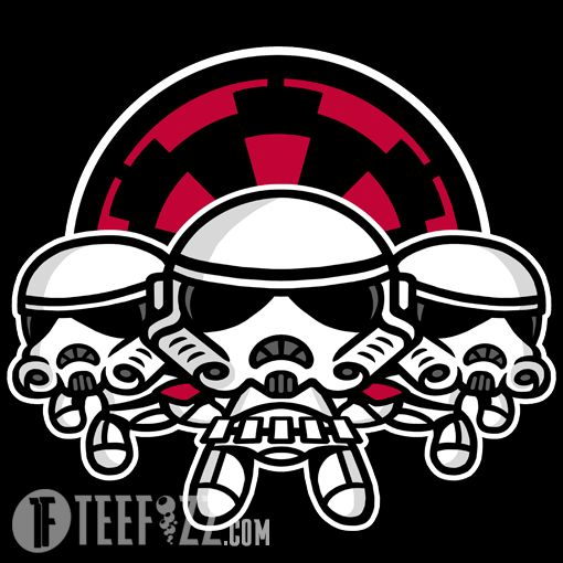 """What would be the ingredients to make """"PowerTroopers""""? Get this awesome Shirt by Baz at TeeFizz.com for a limited time!  http://bit.ly/PowerTroopers"""