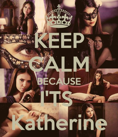 likeanamericaaaan:    KEEP CALM BECAUSE I'TS Katherine - Tuta en @We Heart It.com - http://whrt.it/SD9Fbx