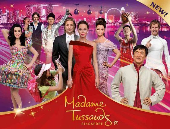 Poster về Bảo tàng sáp Madame Tussaud Singapore