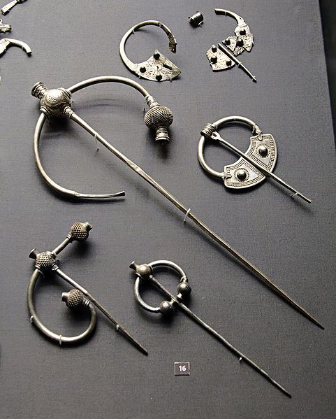 Silver Brooches from the Penrith Hoard