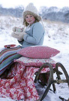 keeping warm!