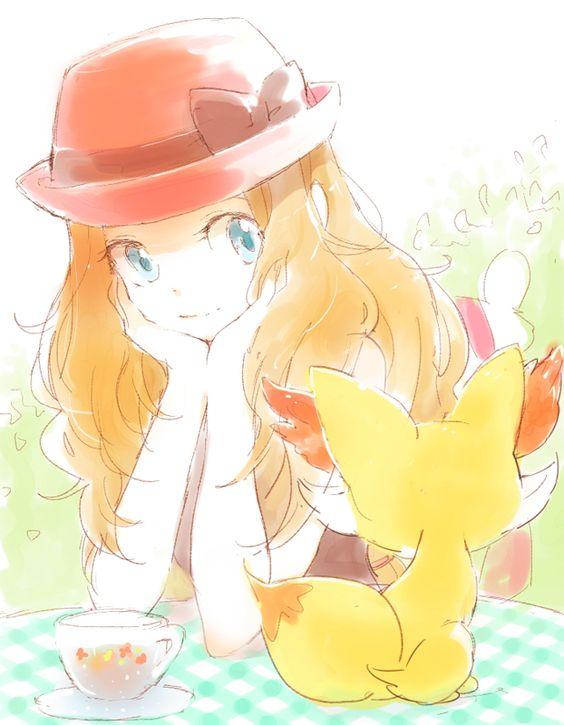 Fennekin es la compañera adecuada :3 #PokémonXY #KalosQueen