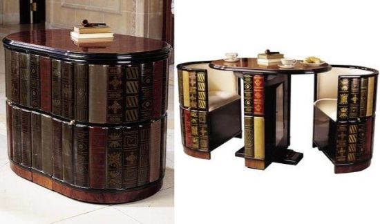 bookcase n seats
